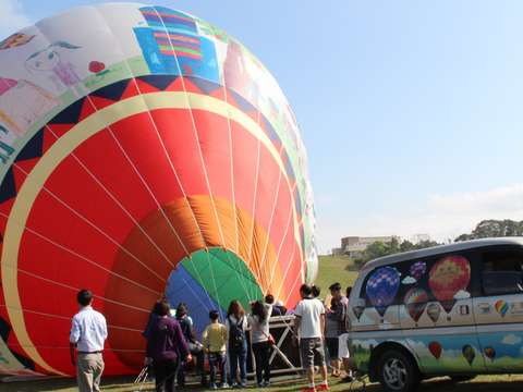 Balloon Tethering Ride